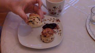 Currant Tea Scones