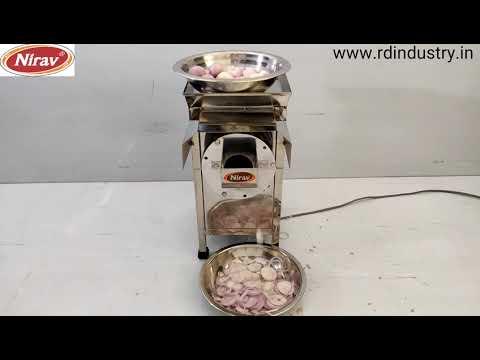 Onion Slicer, Cutter Machine