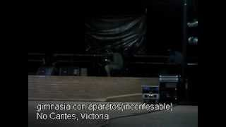 preview picture of video 'gimnasia con aparatos(inconfesable) - No Cantes, Victoria'