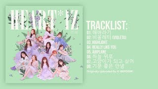 [Full Album] IZ*ONE (아이즈원)   HEART*IZ (2nd Mini Album)