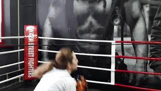 Тренировки по боксу Киев . Тренер Макс Фют Swarm Street Fighters