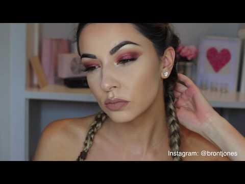 GRWM | Warm Red Eye Makeup Tutorial for Hooded Eyes
