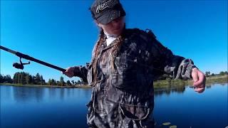Рыбалка в Милятино ч 2 Июнь 2017