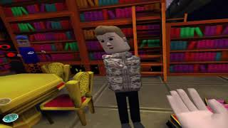 Learn English in a Library in AltspaceVR