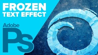 How To Create Disneys Frozen Text In Photoshop