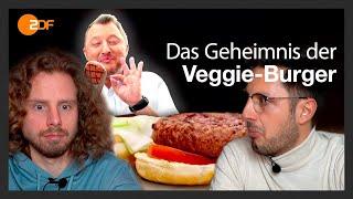 Wir reagieren auf: Das Geheimnis der Veggie-Burger - ZDF Besseresser