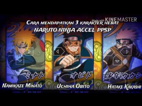 Video Trick Cara mendapatkan 3 karakter hebat naruto heroes 3/ninja accel psp