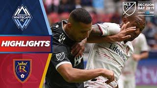Vancouver Whitecaps FC vs. Real Salt Lake | A Fabulous Headed Goal! | HIGHLIGHTS