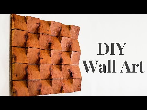 DIY Wood Wall Art | UrbnGoods | Ep2