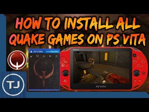 PS Vita How To Install Quake I/II/III (Homebrew Ports) - смотреть