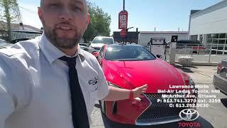 Lexus LC500 at belair LEXUS toyota