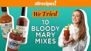 Trying TEN Bloody Mary Mixes! But Which One's Best? | We Tried It | Allrecipes.com