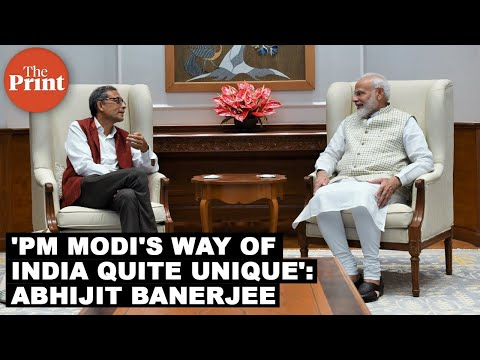 PM Modi talked about his way of India, which was quite unique: Nobel winner Abhijit Banerjee