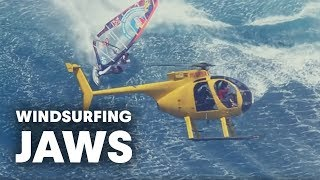 Download Video Windsurfing Jaws - The mother of all waves with Jason Polakow MP3 3GP MP4