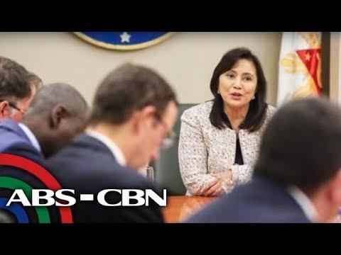 [ABS-CBN]  VP Robredo, nakipagpulong na sa US Embassy | News Patrol