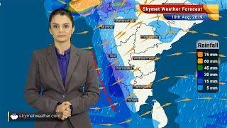 Weather Forecast Aug 10: Moderate Rains With Few Heavy Spells In Kerala, Coastal Karnataka, Bhuj