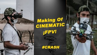 Fpv drone cinematic making of 2020