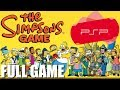 The Simpsons Game psp ps2 Full Game Walkthrough no Comm
