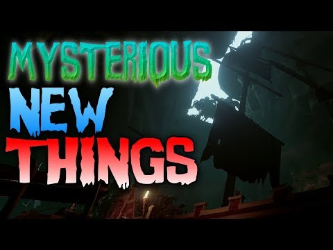 MYSTERIOUS NEW THINGS // SEA OF THIEVES - Hints for the Mega Update