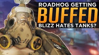 Overwatch: Roadhog BUFFS Coming! - Does Blizzard HATE Tanks?