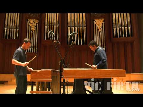 MP Duo playing Steve Reich's Nagoya Marimbas