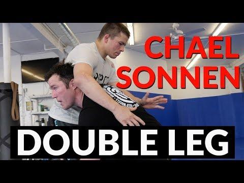 Chael Sonnen vous explique le double leg qu'il compte utiliser sur Fedor