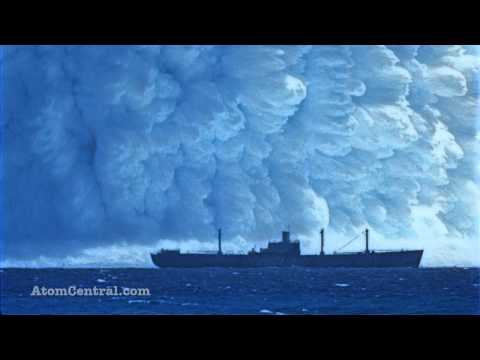 Watch What Happens When A Nuclear Bomb Explodes Underwater