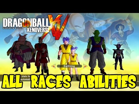 Dragon Ball Xenoverse: All Races Special Abilities & Attributes (Plus Frieza Race Theory)