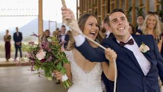Megan & Matt Wedding Film - Kooroomba Lavender Fields