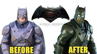 Jakks Pacific Armored Batman Makeover- Chris' Custom Collectables