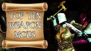 Top Ten Weapon Mods for Skyrim on PS4