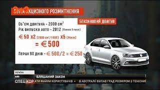 Верховна Рада ухвалила закон, завдяки якому розмитнити придбані за кордоном авто буде дешевше