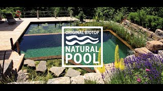 BIOTOP Natural Pools - The BIOTOP Swimming-Pool (english, USA)
