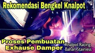 Membuat DBKiller knalpot Racing | Rekomendasi Bengkel Knalpot
