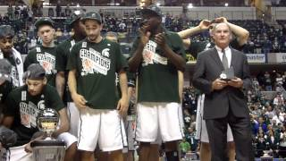2012 Big Ten Tournament All-Tournament Team and MOP Award.MOV