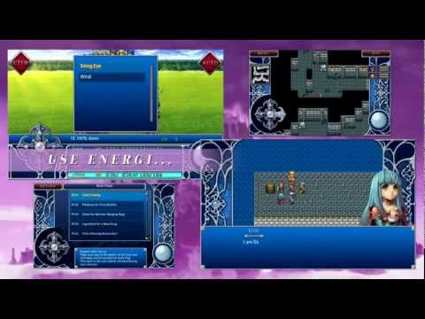 Video of RPG Alphadia2