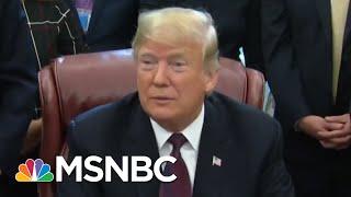 The President Donald Trump White House Is Suddenly Urging Decorum | Deadline | MSNBC