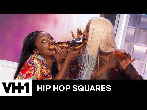 Tiffany Haddish & Black Ink Crew's Sky Share A Phallic Doughnut   Hip Hop Squares