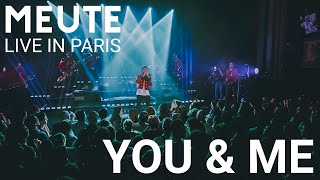 MEUTE   You & Me (Flume Remix)   Live In Paris