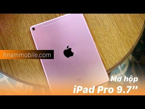 H-Channel | Mở hộp nhanh chiếc iPad Pro 9.7 màu Rose Gold thời thượng.