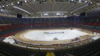 The transformation of Principality Stadium for the Adrian Flux British SGP