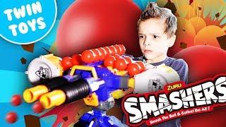 [Nerf Battle] SMASHERS! (No One Smashes My Smashers!)