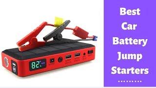 Best Portable Car Jump Starters 2020 -Car Battery Jump Starter Reviews