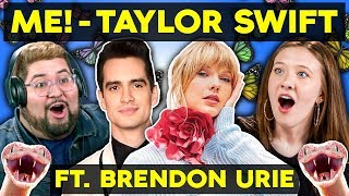 Generations React To Taylor Swift - ME! (feat. Brendon Urie Of Panic! At The Disco)