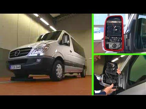 Mercedes-Benz Sprinter | Seitenblinker des Außenspiegels ausbauen
