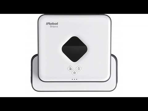 iRobot Braava 390t, robot laveur de sols pour plusieurs pièces et larges espaces, silencieux