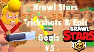 Brawl Ball Trickshots & Epic Goals #5   Travis Scott - Stargazing