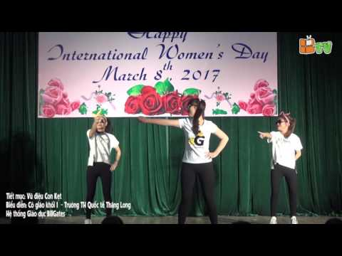 Chào mừng 8.3: Vũ điệu Con Kẹc - Trường Tiểu học Quốc tế Thăng Long - BGS