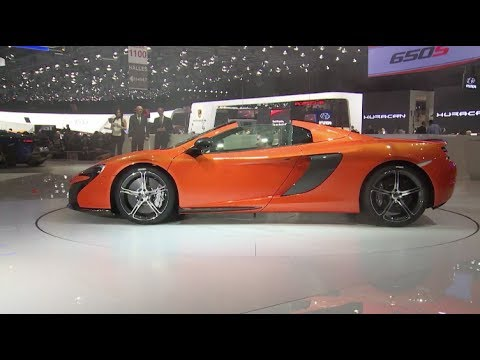 McLaren 650S Spider Debut at Geneva Motor Show