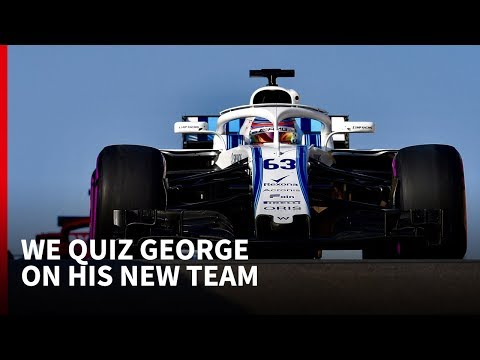 Williams F1 history quiz with 2019 driver George Russell